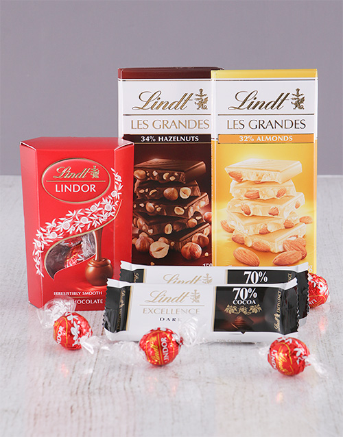 Chocolate Gift Boxes South Africa : Buy lindt chocolate delight netgifts