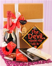 Picture of Mischievous Champagne & Lindt Hamper!