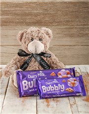Picture of Birthday Gift with Teddy & Cadbury Chocs!