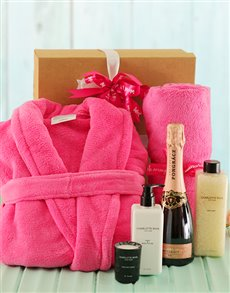 Pretty in Pink Bath and Body Gift