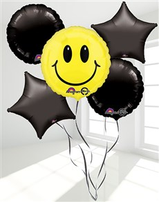 for Kids - for Boys: Smiley Face Balloon Bouquet!
