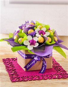 Blooming Chocolate Arrangement