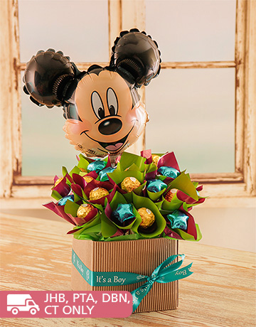 for Kids - for Boys: Mickey Mouse Edible Arrangement!