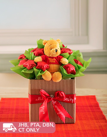 for Kids - for Boys: Pooh Bear Chocolate Arrangement!