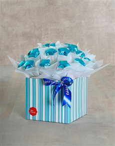 for Kids - for Boys: Blue Star Edible Chocolate Arrangement!