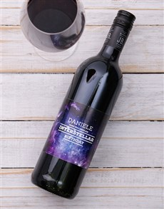 Gifts and Hampers: Personalised Birthday Shiraz!