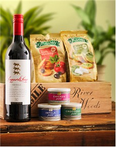 Engagement - Hampers and Gifts: Crate of Wine and Pate!