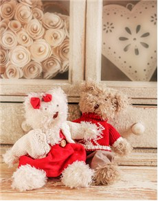 Love and Romance - Hampers and Gifts: Love Bird Teddies!