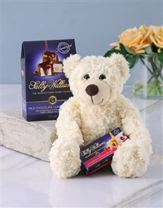 Gifts and Hampers: Sally Williams and Teddy Bear Gift!
