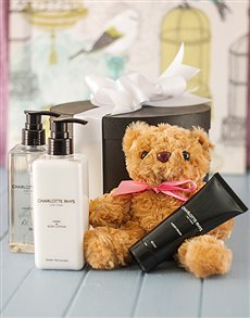 Friendship - Hampers and Gifts: Charlotte Rhys St Thomas Luxurious Essentials!