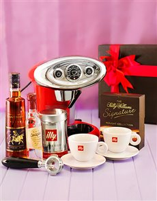 Engagement - Hampers and Gifts: Illy Coffee and Liqueur Hamper!