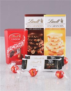 Thank You - Hampers and Gifts: Lindt Chocolate Delight!