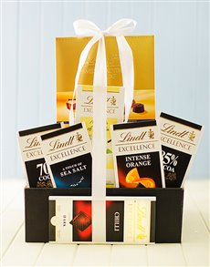 Friendship - Hampers and Gifts: Lindt Chocolate Supreme Box!