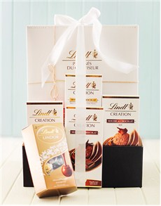 Get Well - Hampers and Gifts: Lindt Chocolate Mousse Hamper!