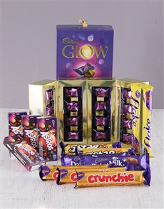 Friendship - Hampers and Gifts: Decadent Cadburys Chocolate Hamper!