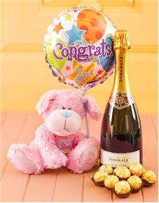 Congratulations - Hampers and Gifts: Congratulations Teddy Gift!