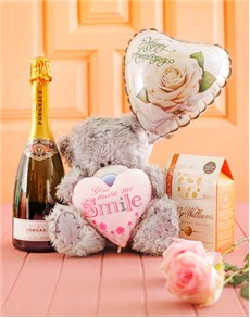 Love and Romance - Hampers and Gifts: Anniversary Tatty Teddy Gift!