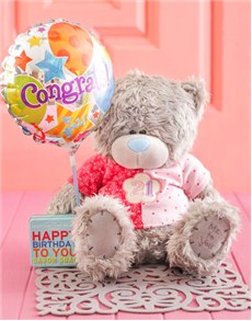 Congratulations - Hampers and Gifts: 21st Birthday Tatty Teddy Gift!
