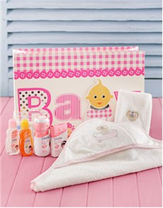for Baby - Hampers and Gifts: Baby Girl Bath Pamper Pack!