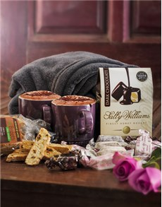 Get Well - Hampers and Gifts: Le Creuset Mugs with Biscotti and Nougat!