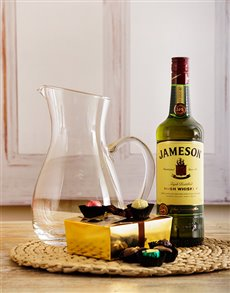 Congratulations - Hampers and Gifts: Jameson and Beyers Chocolate Hamper!