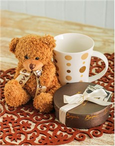 Beyers Chocolate and Teddy Hamper