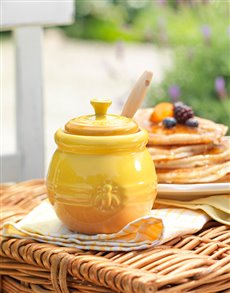 Rosh Hashanah - Rosh Hashanah: Le Creuset Honey Pot with Honey!