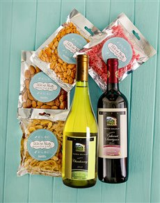 Rosh Hashanah - Rosh Hashanah: Kosher Wines with Dried Fruit and Nut Hamper!