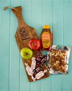 Rosh Hashanah - Rosh Hashanah: Trudeau Board with Kosher Treats!