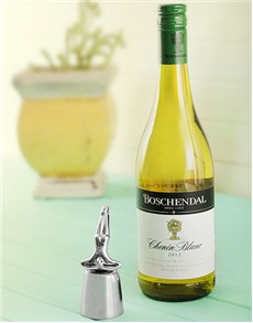 Carrol Boyes Bottle Stopper - At Rest & Boschendal