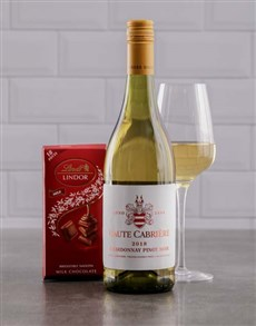 Haute Cabriere Wine & Lindt Chocolate