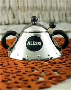 Alessi A-Graves Sugar Bowl