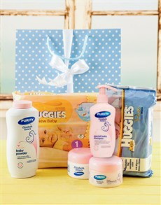 for Baby - Hampers and Gifts: Baby Boy Starter Pack Gift!