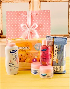 for Baby - Hampers and Gifts: Baby Girl Starter Pack Gift!
