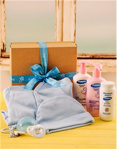 Baby Boy Toiletry and Babygrow Gift