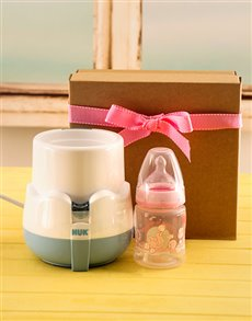 for Baby - Hampers and Gifts: Baby Girl Bottle Warmer Gift!