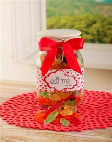 Love and Romance - Hampers and Gifts: Eat Me Candy Jar!
