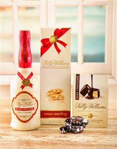 Love and Romance - Hampers and Gifts: Sally Williams Liqueur & Nougat!