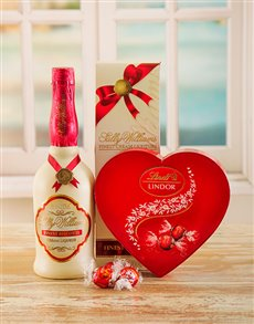 Love and Romance - Hampers and Gifts: Biscotti Liqueur & Chocolates!