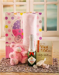for Baby - Hampers and Gifts: Celebrating The New Baby Girl Hamper!