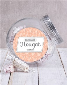 Candy Jar with Sally Williams Nougat