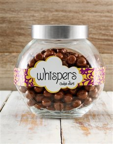 Candy Jar Filled with Whispers