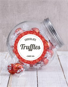 Gifts and Hampers: Lindt Chocolate Ball Candy Jar!
