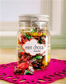 Candy Jar with Nestle Passions Chocolate