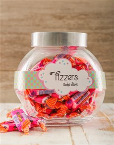 Gifts and Hampers: Candy Jar with Fizzers!