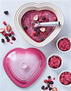 Love and Romance - Hampers and Gifts: Pale Rose Heart Dish!