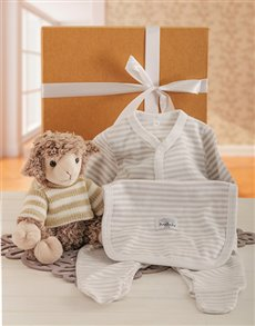 for Baby - Hampers and Gifts: Baby Lamb Gift Set!