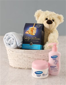 for Baby - Hampers and Gifts: Baby Boy Gift Basket!