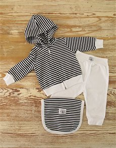 Stripy Baby Outfit