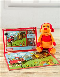 for Kids - for Boys: Monkey and Puzzle Hamper!